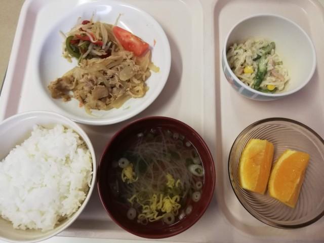 病院食のきざみ食