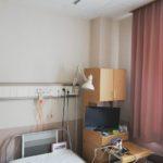 【舌癌手術4回目:入院23日目】2人部屋の病室は付き合いが微妙(コミュ力必要)